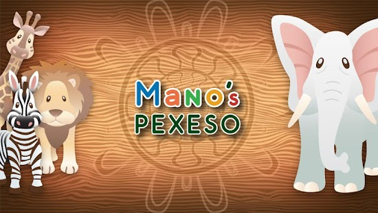 Mano's Pexeso Kids Memory Game- screenshot thumbnail