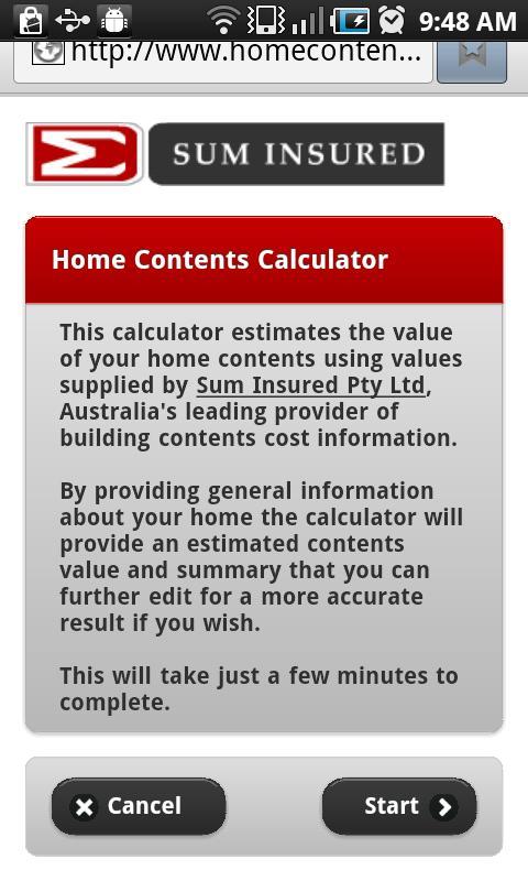 Contents Net Mobile- screenshot