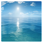 Israel Sea Widget