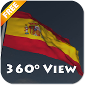 Real Spain Flag Live Wallpaper