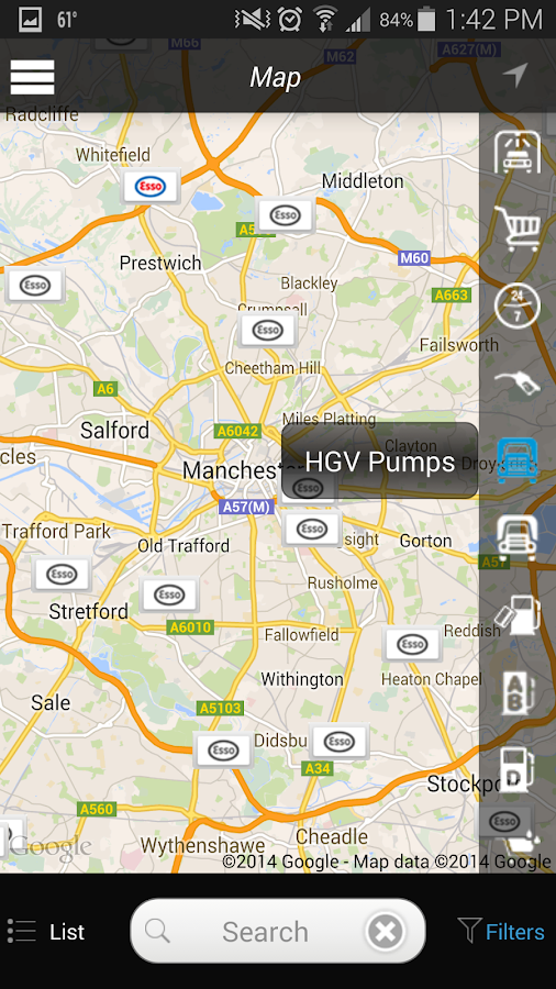 Esso Fuel Finder- screenshot
