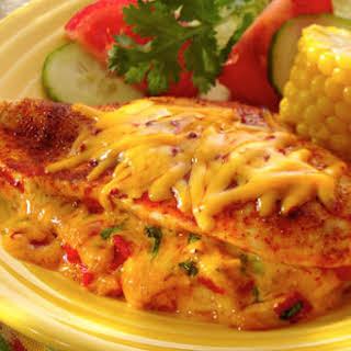 Cheddar & Chipotle Stuffed Chicken Breasts.