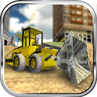 Construction Bulldozer Parking 3