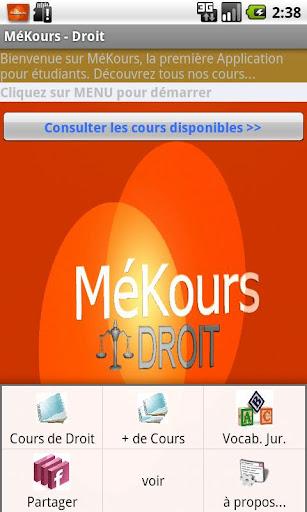 Mekours - Law courses