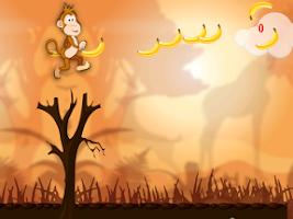 Screenshot of Monkey Safari Run-Badland Kong