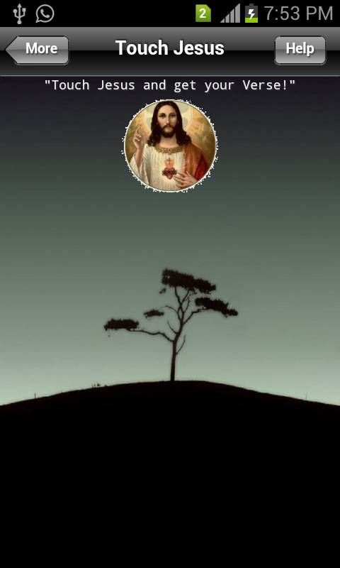 Touch Jesus- screenshot