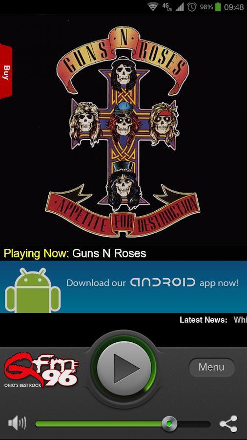 Q-FM 96 - screenshot