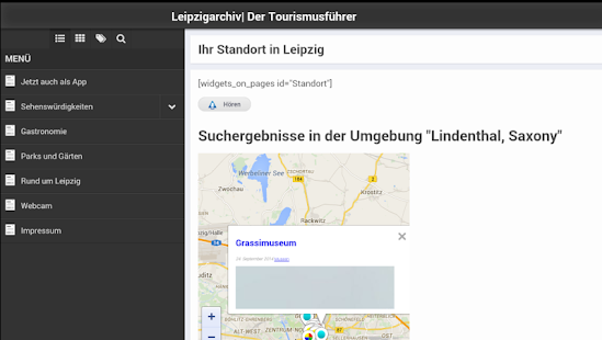LeipzgTouriApp- screenshot thumbnail