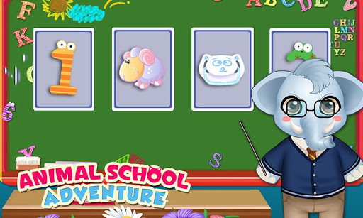 Baby Animal's School Adventure