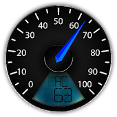 Battery Speedometer gauge