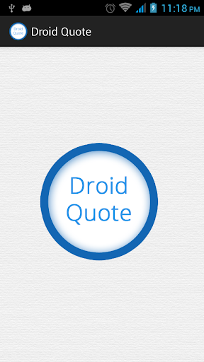 Droid Quote