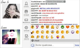 Screenshot of ciao aMigos.it  - videochat