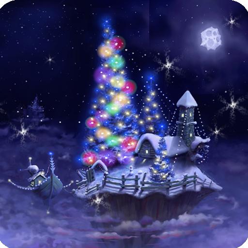 Christmas Snow Fantasy Live Wallpaper Full APK Cracked Download