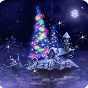 Christmas Snow Fantasy Live Wallpaper Full
