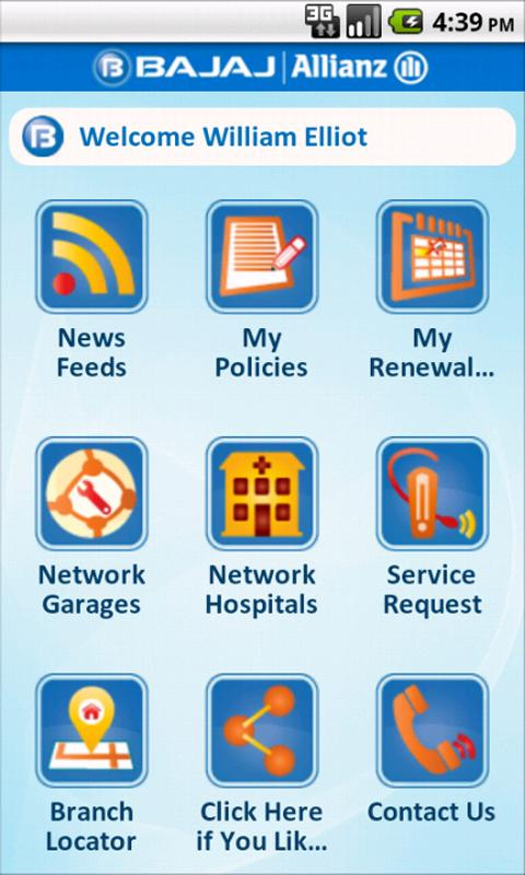 Bajaj Allianz Customer App Android Apps On Google Play