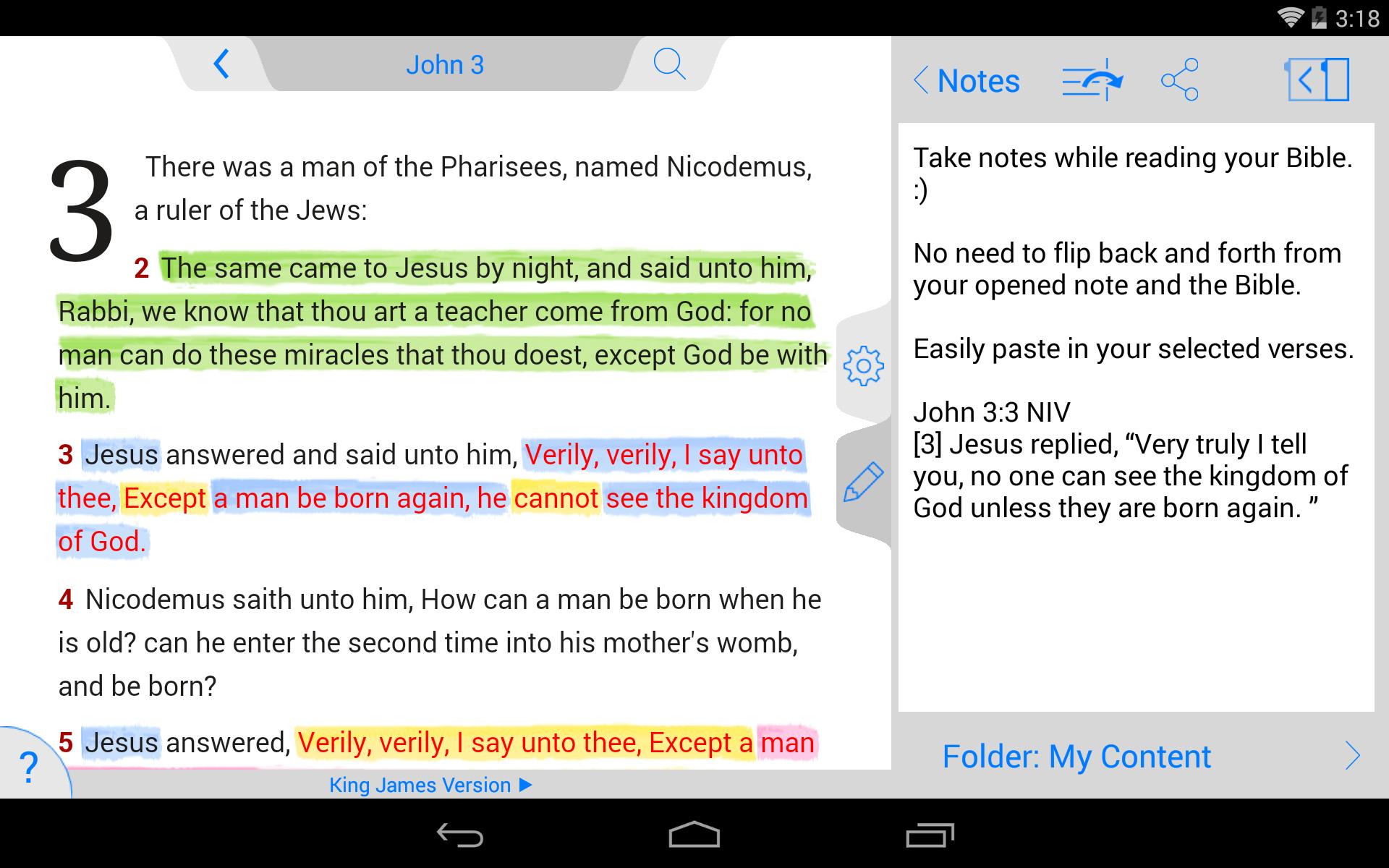 ESV Bible screenshot #22