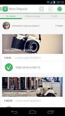 android Shpock Flohmarkt Kleinanzeigen Screenshot 16