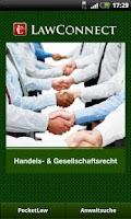 Screenshot of Handels- & Gesellschaftsrecht