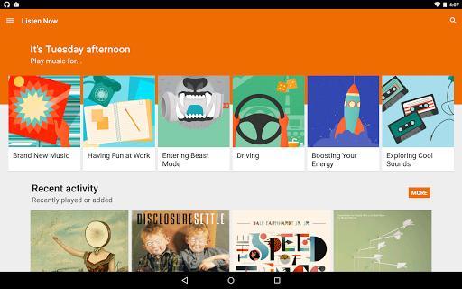 Google Play Music - Imagem 1 do software