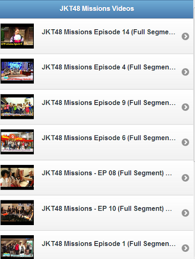 JKT48 Missions Videos