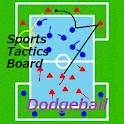STB dodgeball logo