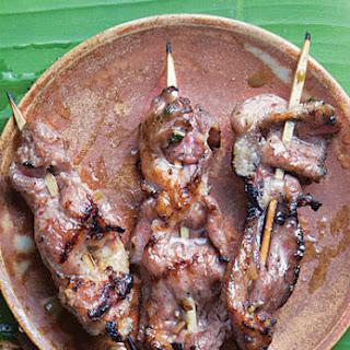 Lemongrass Pork Satay.