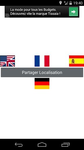 Partager Localisation