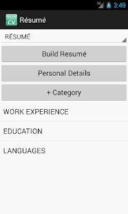 resume cv screenshot thumbnail