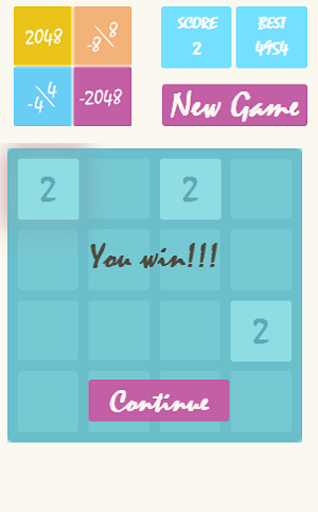 【免費解謎App】2048 the logic Mind Math-APP點子