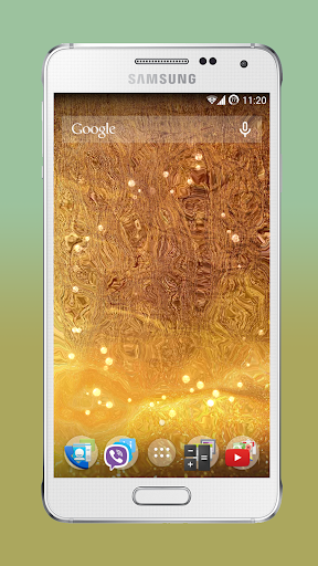 Galaxy Alpha Live Wallpaper