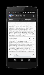 Download Portuguese-English translator APK