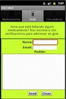 Screenshot of Vet Medicamentos