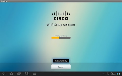 Cisco Network Setup Assistant - screenshot thumbnail