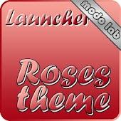 Roses theme Go Launcher EX