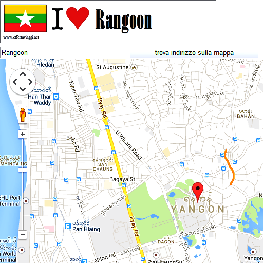 Yangon maps