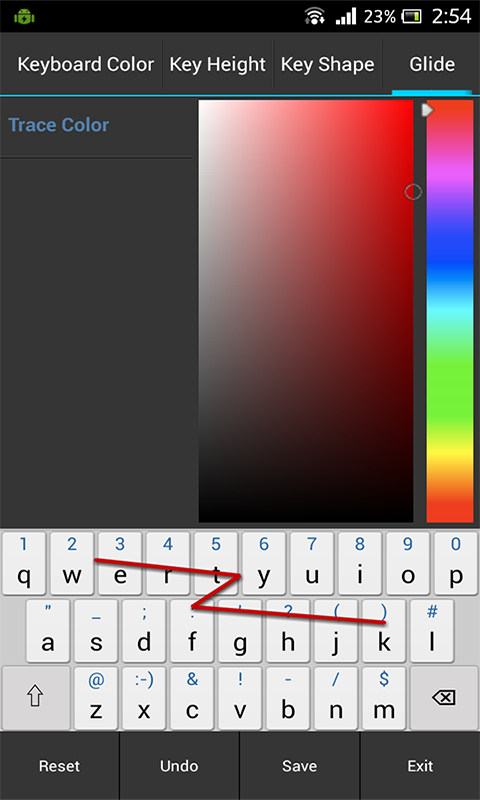 Adaptxt Keyboard - Free - screenshot