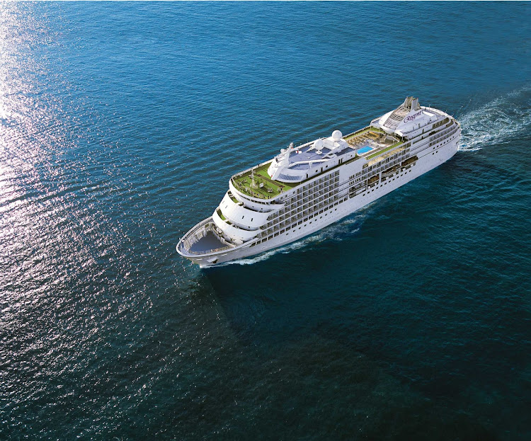 Take a journey across the globe aboard the sleek-looking Seven Seas Navigator. The luxury ship holds 490 guests on cruises to Alaska, Canada, New England and the Caribbean.