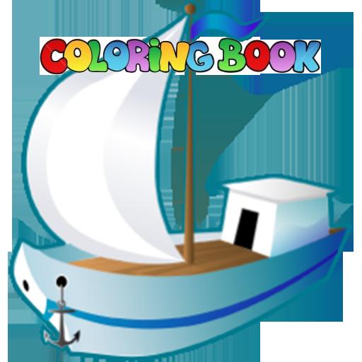 Coloring Book : Ship