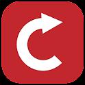 Rotate video tool icon
