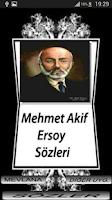 Screenshot of MEHMET AKİF ERSOY SÖZLERİ
