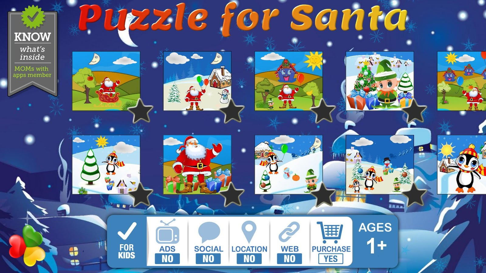 Santa Puzzle: Christmas Games- screenshot