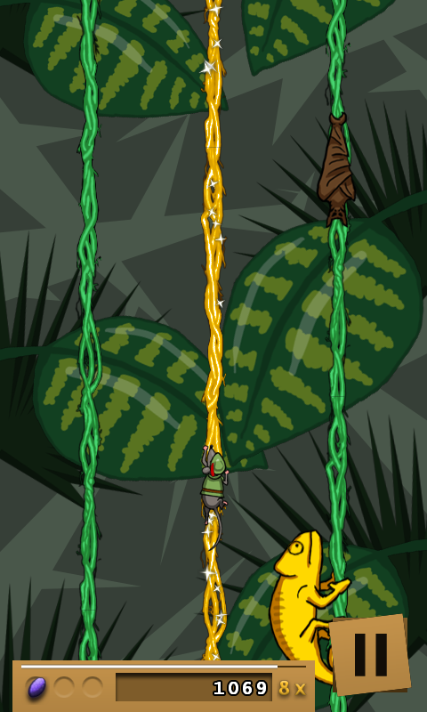 Jungle Jumper Free- screenshot
