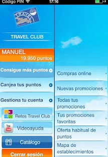 Travel Club App - screenshot thumbnail