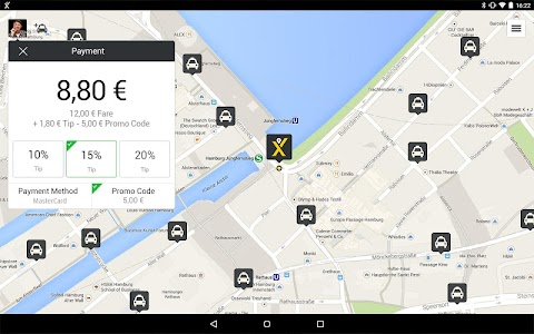 mytaxi – The Taxi App screenshot 12