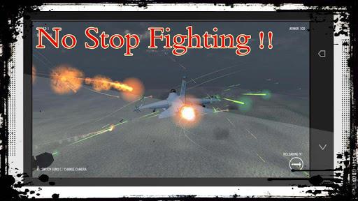 لعبة الطائرات القتالية