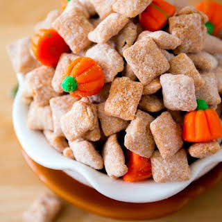 Pumpkin Spice Puppy Chow.