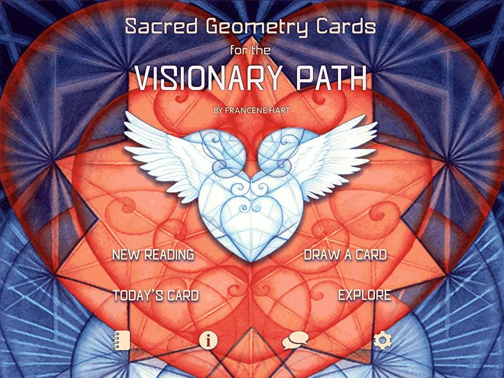 Sacred Geometry Cards Sacred Geometry Visionary Path
