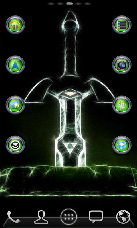 Tungsten Multi Theme (Green) - screenshot