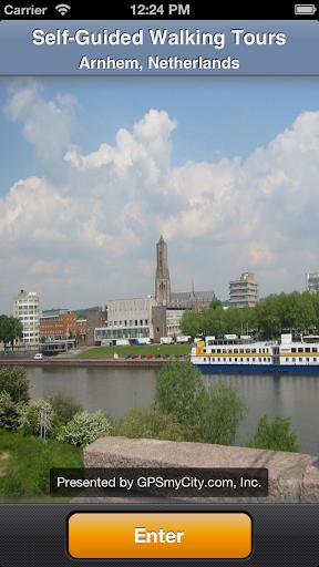 Arnhem Map and Walks