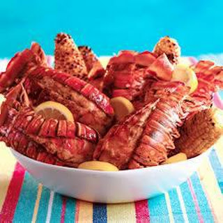 Barbecued Lobster Tail Recipe